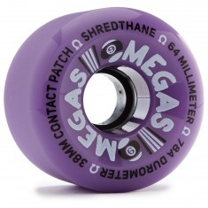 Sector 9 Omegas Longboard Wheels - Purple - 64mm