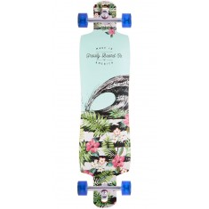 "Gravity 41"" Double Drop Aloha Spirit Longboard Complete"