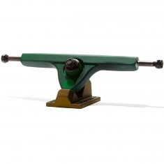 Caliber II Longboard Trucks - Two Tone Green 50 Degree