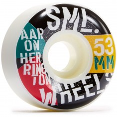 SML Commies Aaron Herrington V-Cut Skateboard Wheels - 53mm
