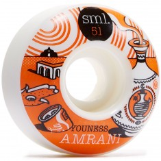 SML Elna Youness Amrani OG Wide Skateboard Wheels - 51mm
