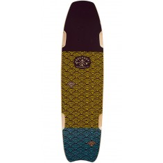 Sector 9 Shark Bite Longboard Deck - Brown - 2017