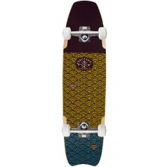 Sector 9 Shark Bite Longboard Complete - Brown - 2017