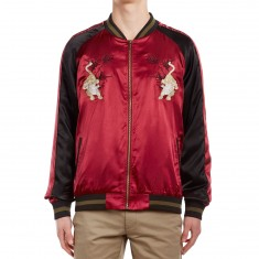 Standard Issue Tiger Jacket - Burgundy/Black