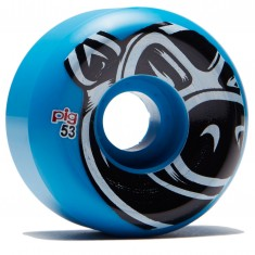 Pig Head Conical Skateboard Wheels - Blue - 53mm
