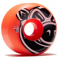 Pig Head Conical Skateboard Wheels - Orange - 53mm