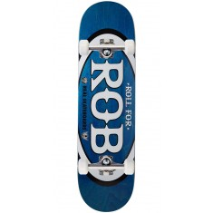 "Real Roll For Rob Skateboard Complete - 8.50"" - Blue"