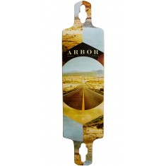 Arbor Photo Collection Walnut Drop Cruiser Longboard Deck - 38""