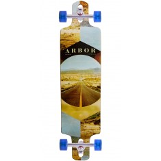Arbor Photo Collection Walnut Drop Cruiser Longboard Complete - 38""
