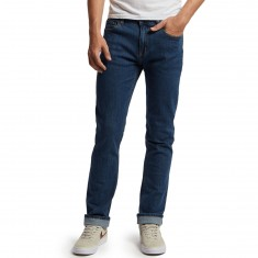 CCS Banks Straight Fit Jeans - Washed Light Blue