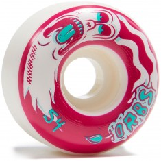 Welcome Orbs Preternaturals Skateboard Wheels - White/Maroon/Teal - 54mm 100A