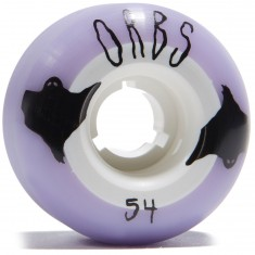 Welcome Orbs Poltergeists Skateboard Wheels - Lavender with White Core - 54mm 104A