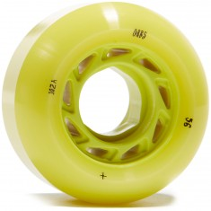 Welcome Orbs Ghost Lites Skateboard Wheels - Lime With Lime Core - 56mm 104A