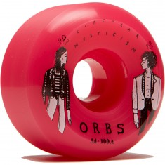 Welcome Orbs Fantasmas Skateboard Wheels - Neon Pink - 54mm 100A