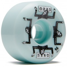 Welcome Orbs Fantasmas Skateboard Wheels - Light Teal - 56mm 100A