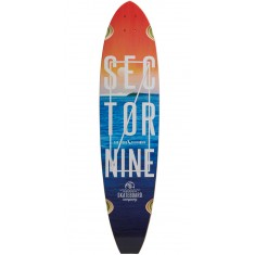 Sector 9 Voyager Longboard Deck - Blue