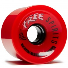 Free Spirits Longboard Wheels - 70mm 78a - Red