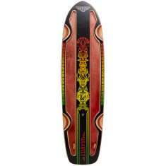 "Gravity Rasta Cruiser 30"" Longboard Deck - Red Stain"