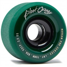 Blood Orange Liam Morgan Formula Longboard Wheels - 70mm 80a - Forest Green