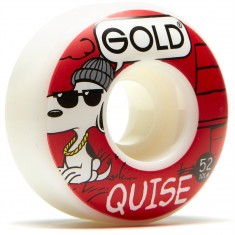 Gold Gang Quise Skateboard Wheels - 52mm