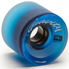 Gravity Classic Longboard Wheels - 62mm 78a - Trans Blue