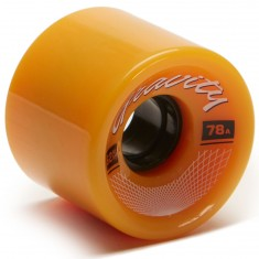 Gravity Classic Longboard Wheels - 62mm 78a - Yellow