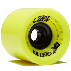 Cuei Killers Race Longboard Wheels - Yellow - 74mm 80a