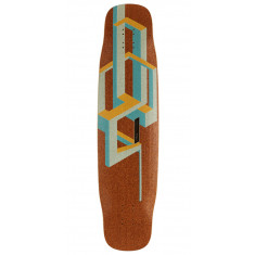 Loaded Basalt Tesseract Longboard Deck - Mango