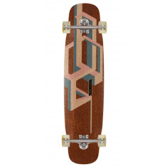 Loaded Basalt Tesseract Longboard Complete - Pink