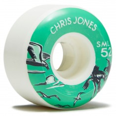 SML Nautical Series Chris Jones V-Cut Skateboard Wheels - 52mm