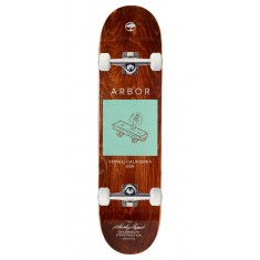 Arbor Whiskey Team Skateboard Complete - 8.00""