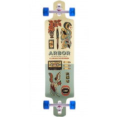 Arbor Artist Collection Axis GT Drop Cruiser Longboard Complete - 38""