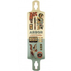 Arbor Artist Collection Axis GT Drop Cruiser Longboard Deck - 38""