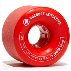 Arbor Bogart Longboard Wheels - 61mm 82a Red