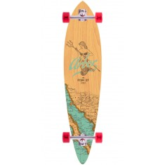 "Arbor Fish 37"" Groundswell Longboard Complete - 2017"