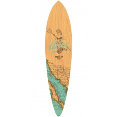 "Arbor Fish 37"" Groundswell Longboard Deck - 2017"