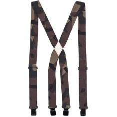 Arcade The Jessup Suspenders - Black/Grey