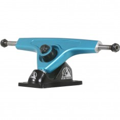 Atlas 180mm 8mm 48 Degree Ultralight Longboard Trucks - Blue Steel/Black