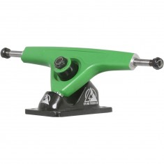 Atlas 180mm 8mm 48 Degree Ultralight Longboard Trucks - Bright Green/Black