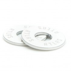 Atlas Standard Washers - White
