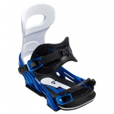 Bent Metal Transfer Snowboard Bindings 2018 - White