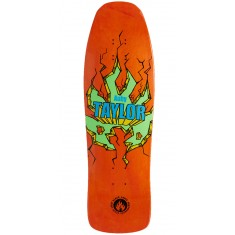 "Black Label Auby Taylor Breakout Skateboard Deck - 9.50"" - Orange"