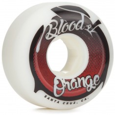 Blood Orange Street Raw Conical Skateboard Wheels - 57mm 99a