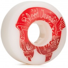 Blood Orange Street Raw Rounded Skateboard Wheels - 58mm 99a