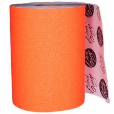Blood Orange Heavy Duty Grit Griptape Custom Length - Orange