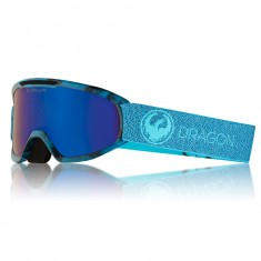 Dragon DX2 Snowboard Goggles - Mill/LumaLens Blue Ion