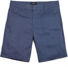 Brixton Carter Relaxed Fit Chino Shorts - Heather/Navy