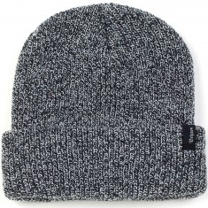 Brixton Heist Beanie - Black/Grey Heather