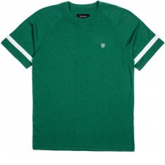 Brixton Malden T-Shirt - Heather Forest