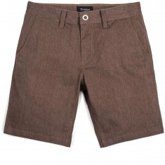 Brixton Murphy Standard Fit Chino Shorts - Heather Brown
